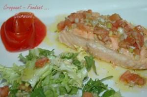 Pavés de saumon sauce vierge - DSC_3858_12039