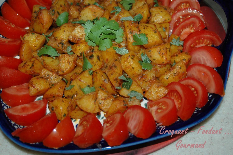 Salade marocaine de PDT épicées - DSC_3855_12036