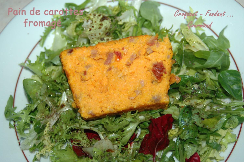 Pain de carottes  fromagé - DSC_4965_13323