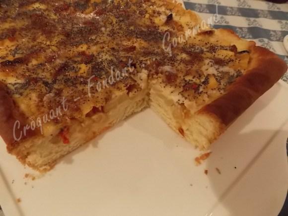 Gâteau brioché aux pommes -DSCN0838_20113
