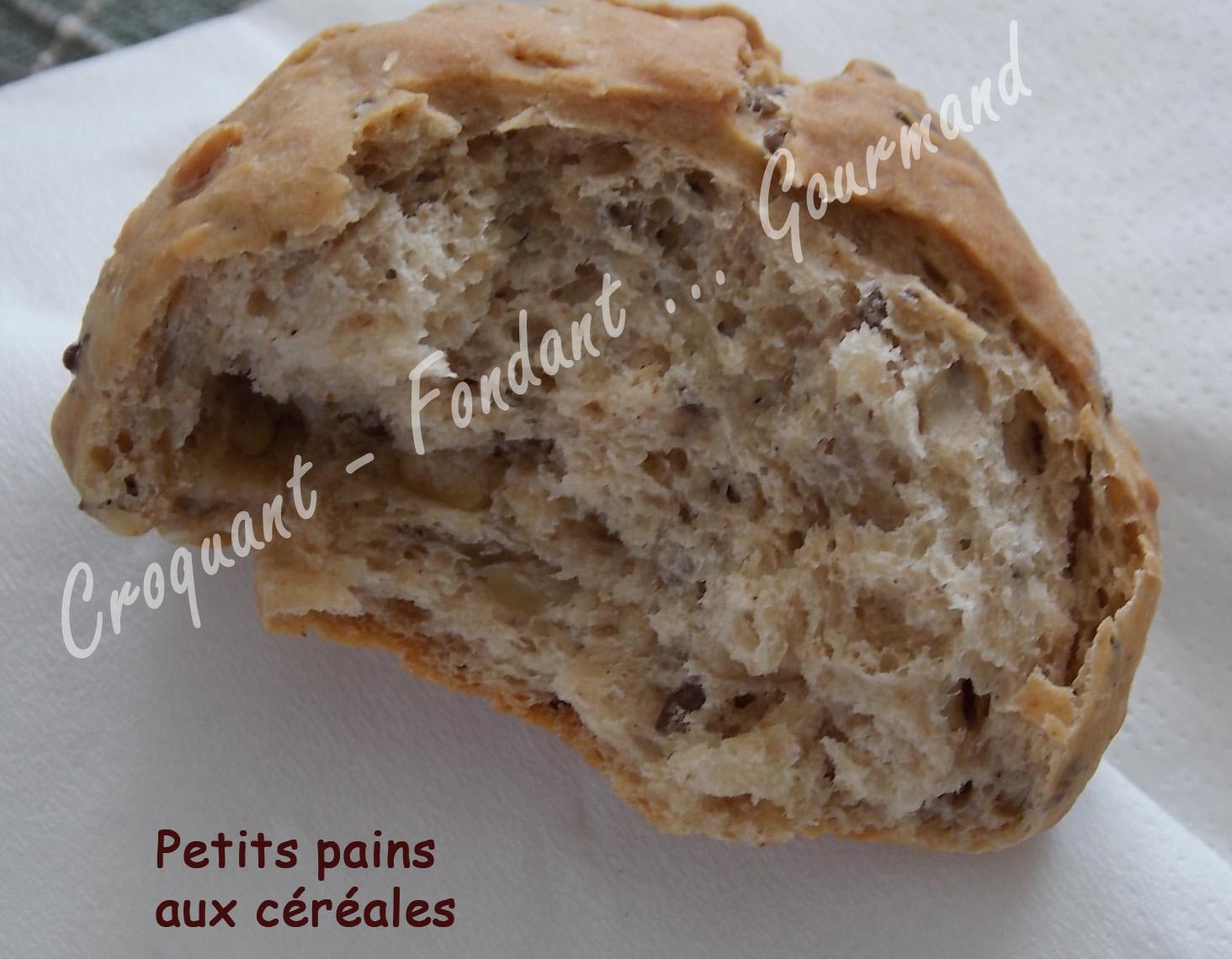 Pain aux cereales map