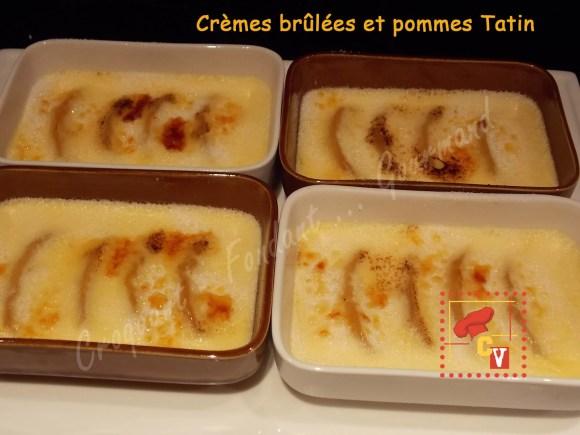 Crèmes brûlées et pommes Tatin CV DSCN0778_30316