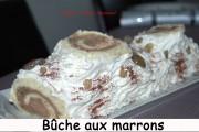 Bûche à la crème de marrons Index - DSC_2098