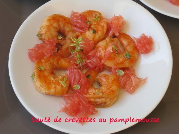 Sauté de crevettes au pamplemousse IMG_5768_34339