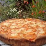 à vous de jouer 30.08.14 Une normande en cuisine Tarte briochée abricot-romarin DSC06817