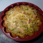 à vous de jouer Omelette aux courgettes ma Lolo P1060413