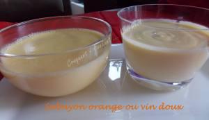 Sabayon orange ou vin doux 042