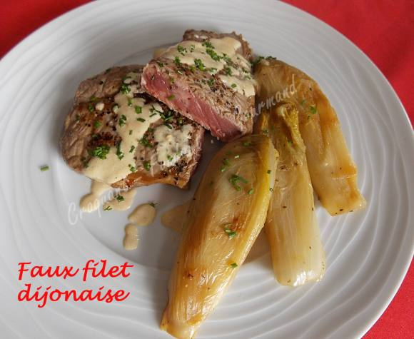 Faux filet dijonnaise DSCN7193