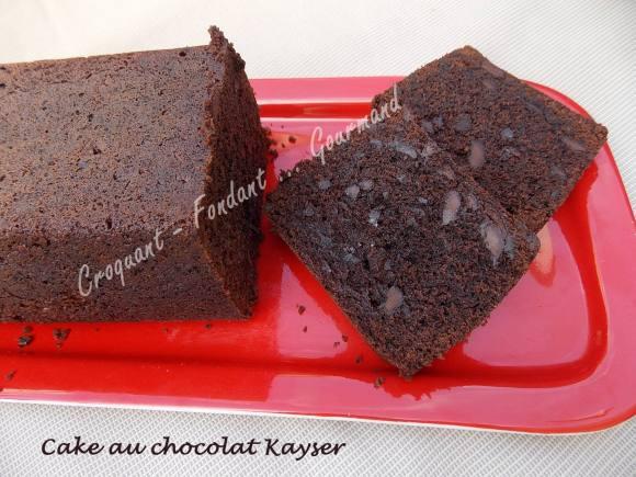 Cake au chocolat Kayser DSCN8145