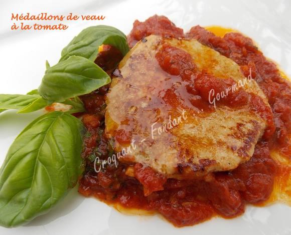 Médaillons de veau à la tomate DSCN7836