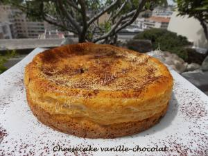 Cheesecake vanille-chocolat DSCN8057
