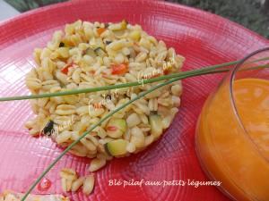 Blé pilaf aux petits légumes DSCN9283