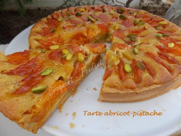 Tarte abricot-pistache DSCN8974