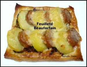 Défi 7 Feuilleté beaufortain Miechambo cuisine 106386897