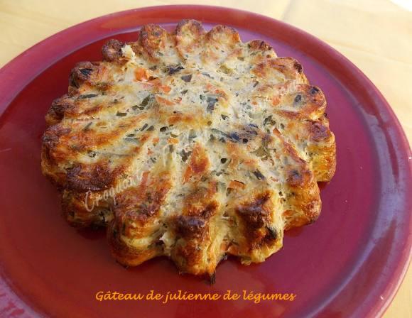 Gâteau de julienne de légumes DSCN0719