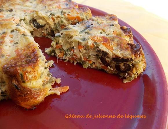 Gâteau de julienne de légumes DSCN0723