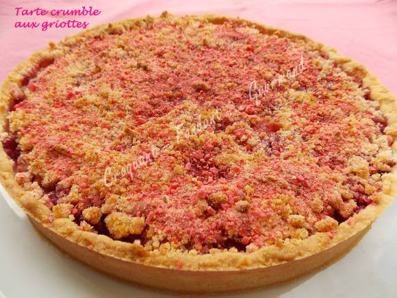 Tarte crumble aux griottes DSCN0445