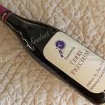 Vin Pinot noir Terre précieuse DSCN0089