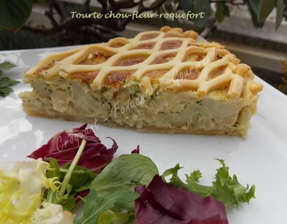 Tourte chou-fleur-roquefort DSCN1207