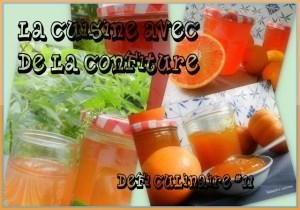 Défi culinaire #11 confitures 2