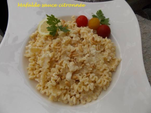 Mafalde sauce citronnée DSCN6130