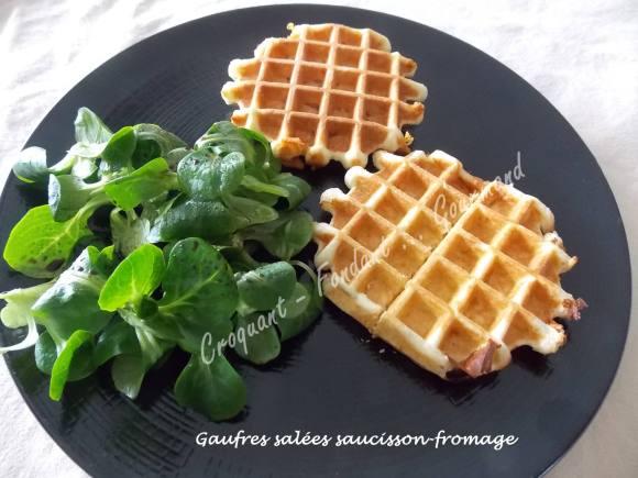 Gaufres salées saucisson-fromage DSCN2684