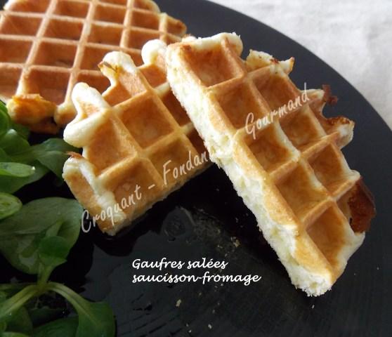 Gaufres salées saucisson-fromage DSCN2686