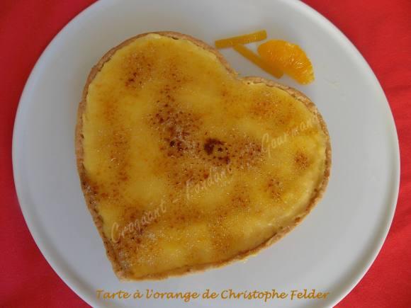 Tarte à l'orange de Christophe Felder DSCN2595