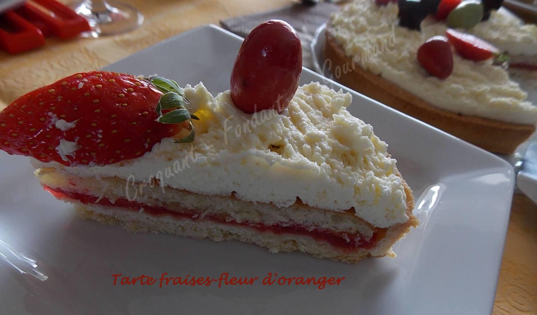 Tarte fraises-fleur d'oranger DSCN3682