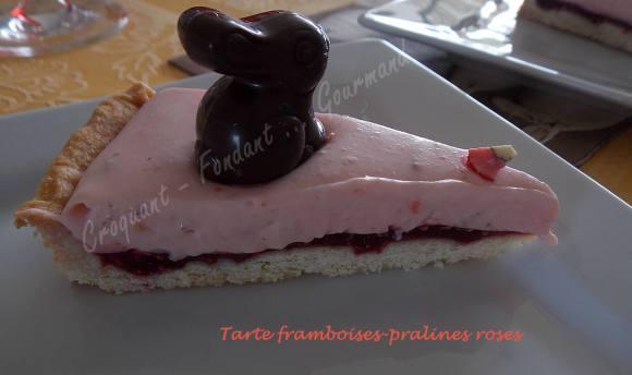 Tarte framboises-pralines roses DSCN3678
