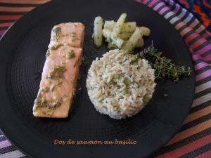 Dos de saumon au basilic DSCN3941
