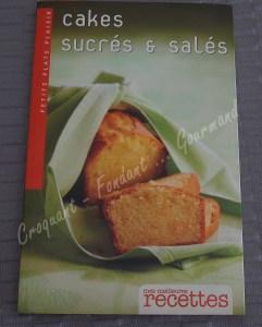 Cakes sucrés et salés Livre DSCN4966
