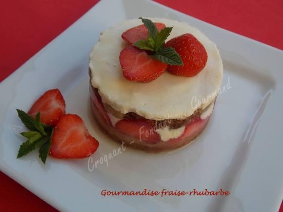 Gourmandise fraise-rhubarbe DSCN5004