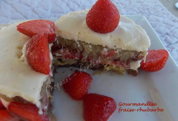 Gourmandise fraise-rhubarbe DSCN5019
