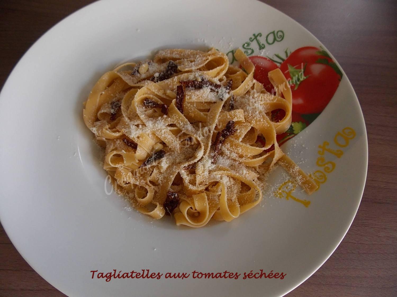 Tagliatelles aux tomates séchées DSCN4444