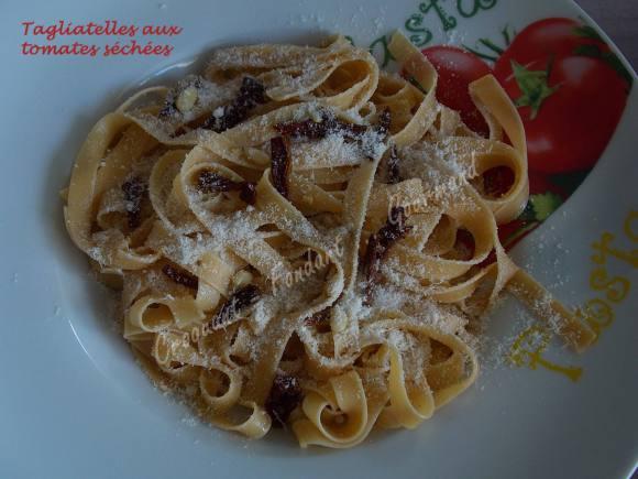 Tagliatelles aux tomates séchées DSCN4445