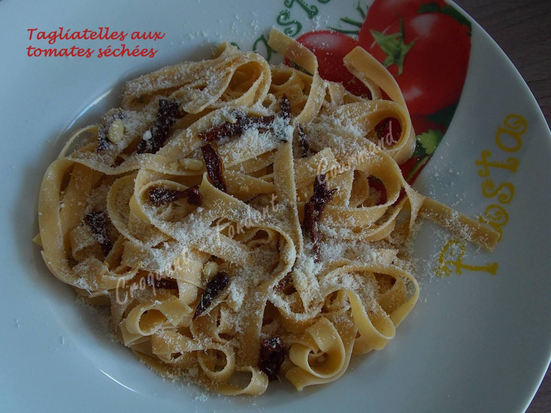 Tagliatelles aux tomates séchées DSCN4446