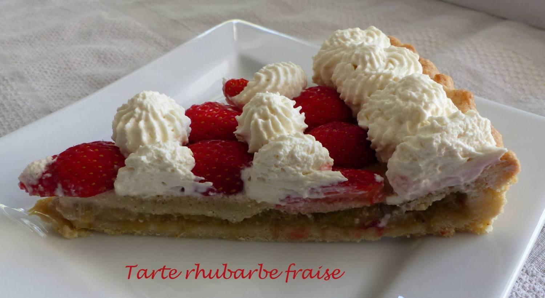 Tarte rhubarbe fraise P1170721 R