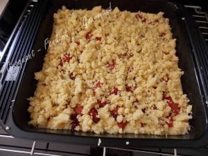 Crumb cake rhubarbe-griottes DSCN5941