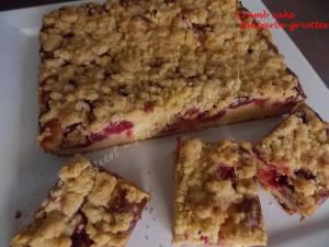 Crumb cake rhubarbe-griottes DSCN5959