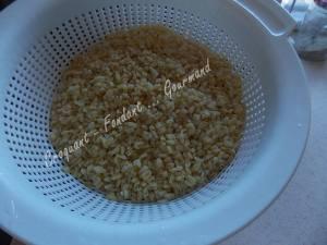 Salade de blé au poulet et légumes confits DSCN5094
