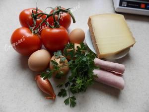 Œuf en nid de tomate DSCN0307