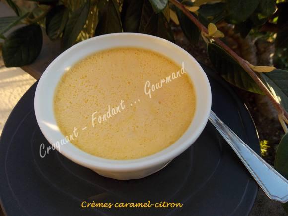 Crèmes caramel-citron DSCN6102