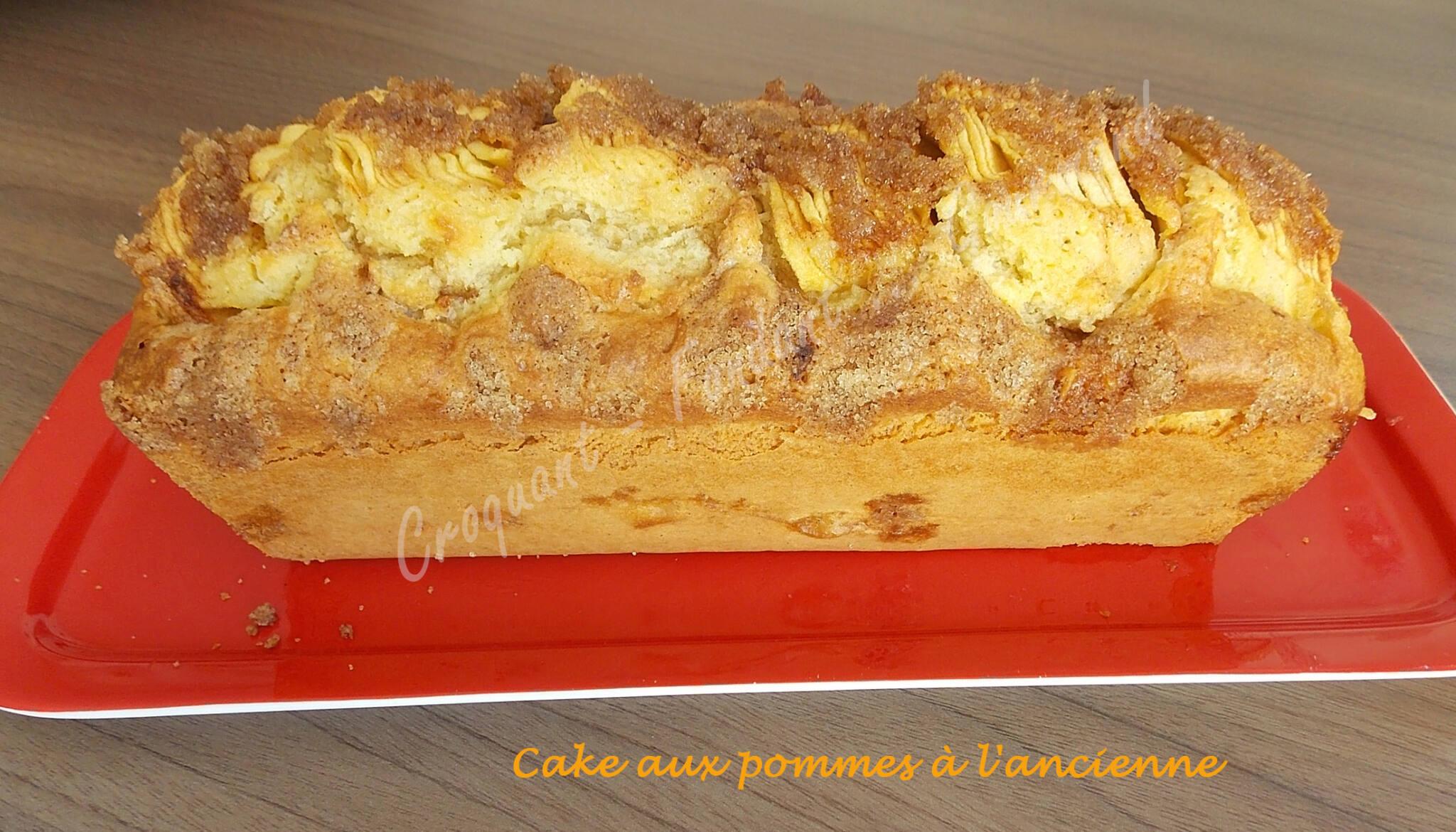 cake aux pommes l 39 ancienne recettes autour d 39 un. Black Bedroom Furniture Sets. Home Design Ideas