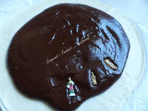 Galette des rois au chocolat du Chef Sylvain P1000599