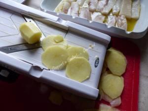 Filets de cabillaud et pommes de terre P1010327