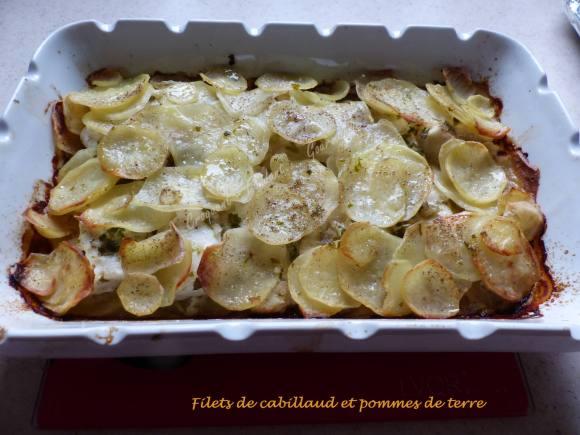 Filets de cabillaud et pommes de terre P1010340