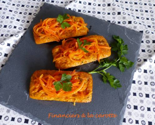Financiers à la carotte P1010938