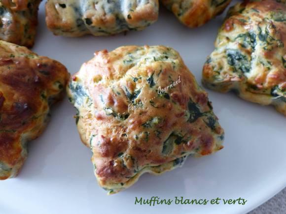 Muffins blancs et verts P1020421