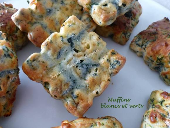 Muffins blancs et verts P1020423